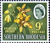 Southern Rhodesia 1964 SG 98 Orchid Plant Fine Mint
