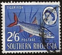 Southern Rhodesia 1964 SG102 Tiger Fish Fine Used