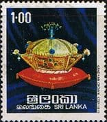 Sri Lanka 1977 Regalia of the Kings of Kandy SG 637 Fine Used