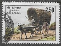 Sri Lanka 1983 Transport SG 822 Fine Used