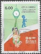 Sri Lanka 1985 UNICEF Child Survival and Development SG 904 Fine Used