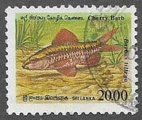 Sri Lanka 1990 Endemic Fish SG 1136  Fine Used