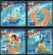 Sri Lanka 2000 New Millennium Set Fine Mint