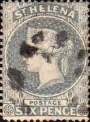 St Helena 1864 Queen Victoria SG 29 Fine Used