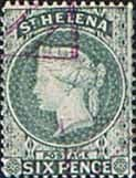 St Helena 1873 Queen Victoria SG 16a Good Used
