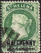 St Helena 1884 Queen Victoria SG 34 Fine Used