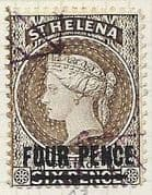 St Helena 1887 Queen Victoria  SG 43 Fine Used