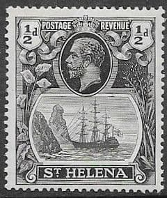 St Helena 1922 King George V SG 97 Fine Mint