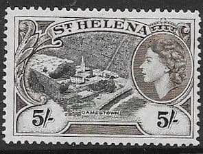 St Helena 1953 Jamestown SG 164 Fine Mint