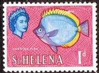 St Helena 1961 Cunning Fish SG 176 Fine Mint