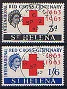 St Helena 1963 Red Cross Centenary Set Fine Used