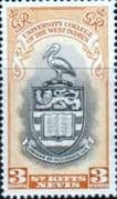 St Kitts and Nevis 1951 British West Indies University College SG 92 Fine Mint