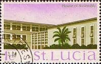 St Lucia 1970 SG 276 House of Assebley Fine Used