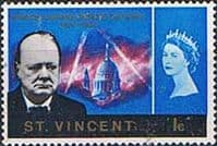 St Vincent 1966 Churchill SG 246 Fine Mint