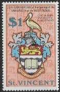 St Vincent 1973 West Indies University SG 379 Fine Mint