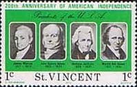 St Vincent 1975 Bicentenary of American Revolution SG 457 Fine Mint