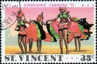 St Vincent 1975 Kingston Carnival SG 418 Dancers Fine Used