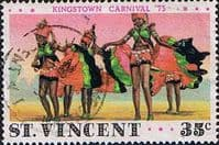 St Vincent 1976 Kingston Carnival SG 418 Carnival Dancers Fine Used