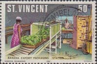 St Vincent 1981 Agriculture SG 662 Arrowroot Fine Used