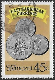 St Vincent 1987 East Caribbean Currency SG 1107 Fine Used