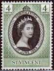 St Vincent Queen Elizabeth II 1953 Coronation Fine Mint