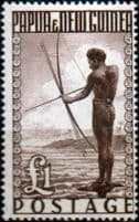 Stamps Issued in Papua and New Guinea Pre-Decimal 1952 - 1965