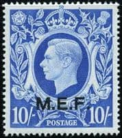 Stamps of British Post Offices in East Africa and Turkey