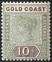 Stamps of Gold Coast - Ghana