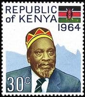Stamps of Kenya