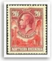 Stamps of Northern Rhodesia and Zambia