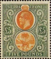 Stamps of Sierra Leone