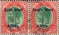 Stamps of South West Africa Namibia