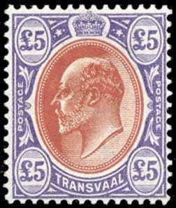 Stamps of The Transvaal