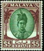 State of Kedah King George VI Issues
