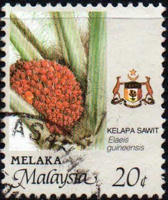State of Malacca 1986 Agriculture SG 100 Fine Used