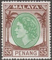 State of Penang Queen Elizabeth Period