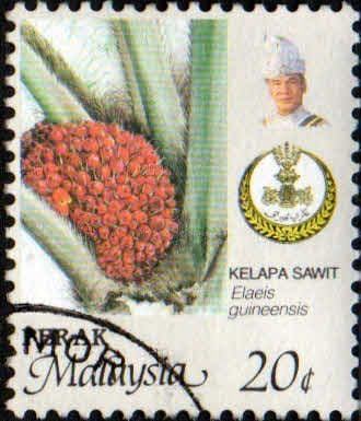 State of Perak 1986 Produce SG 203 Oil palm Fine Used