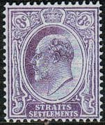 Straits Settlements 1904 King Edward VII SG 126 Fine Mint