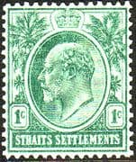 Straits Settlements 1906 SG 152 King Edward VII Fine Mint