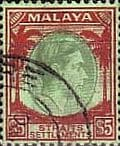 Straits Settlements King George VI