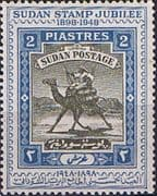Sudan 1948 SG 112 Golden Jubilee of Camel Post Fine Mint