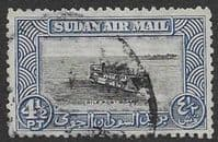 Sudan 1950 Air Mail SG 120 Fine Used