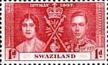 Swaziland 1937 King George VI Coronation SG 25 Fine Mint