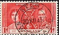 Swaziland 1937 King George VI Coronation SG 25 Fine Used