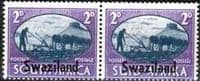 Swaziland 1946 King George VI Victory SG 40 Fine Mint