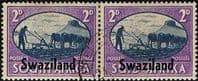 Swaziland 1946 King George VI Victory SG 40 Fine Used