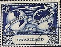 Swaziland 1949 Universal Postal Union SG 49 Fine Used