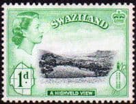 Swaziland 1956 High Veld View Mine SG 54 Fine Mint
