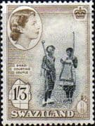 Swaziland 1956 Swazi Courting Couple SG 60 Fine Mint