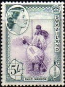 Swaziland 1956 Swazi Courting Couple SG 62 Fine Mint